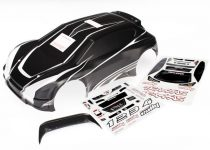 Traxxas  Body, 1/10 Rally, ProGraphix (graphics are printed, requires paint & final color application)/ decal sheet
