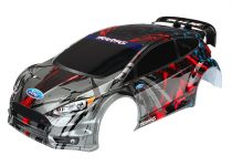 Traxxas Body, Ford Fiesta® ST Rally (painted, decals applied)