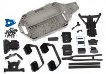 Traxxas Slash 4X4 Low-CG Chassis Conversion Kit with installation hardware