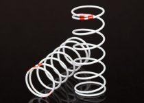 Traxxas Spring, shock, white (GTR long) (0.623 rate orange) (1 pair)