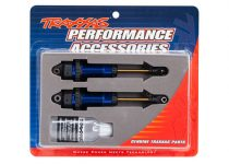Traxxas Shocks, GTR xx-long blue-anodized, PTFE-coated bodies with TiN shafts (fully assembled, without springs) (2)