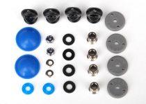 Traxxas Rebuild kit, GTR long/xx-long shocks (x-rings, bladders, pistons, piston nuts, shock rod ends, hollow balls) (renews 2 shocks)