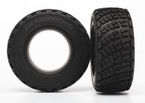 Traxxas Tires, BFGoodrich® Rally, gravel pattern, S1 compound (2)/ foam inserts (2)