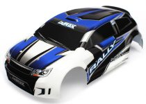 Traxxas Body, LaTrax® 1/18 Rally, blue (painted)/ decals