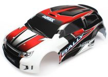 Traxxas Body, LaTrax® 1/18 Rally, red (painted)/ decals