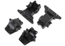 Traxxas Bulkhead, front & rear / differential housing, front & rear