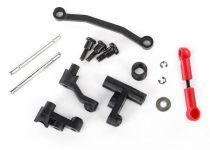 Traxxas Steering bellcranks, servo saver/ spring/ spring retainer/ posts/ draglink