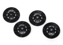 Traxxas Wheel hubs, hex (disc brake rotors) (4)