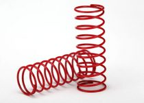 Traxxas  Spring, shock (red) (GTR) (0.314 rate) (1 pair)