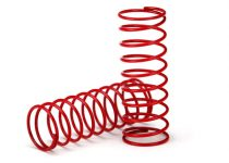 Traxxas  Spring, shock (red) (GTR) (0.412 rate)