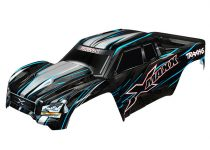Traxxas Body, X-Maxx®, blue (painted, decals applied) (assembled with front & rear body mounts, rear body support, and tailgate protector)