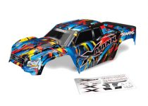 Traxxas Body, X-Maxx®, Rock n' Roll (painted, decals applied) (assembled with tailgate protector)