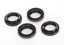 Traxxas Spring retainer (adjuster), PTFE-coated aluminum, GTX shocks (4) (assembled with o-ring)