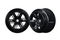 Traxxas Wheels, X-Maxx®, black (left & right)