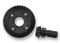 Traxxas Ring gear, differential/ pinion gear, differential (machined, spiral cut) (rear)