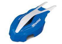 Traxxas  Canopy, front, blue/white, Aton®