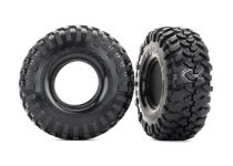 Traxxas Tires, Canyon Trail 2.2/ foam inserts (2)