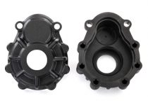 Traxxas Portal housings, outer, 6061-T6 aluminum (charcoal gray-anodized) (2)/ 2.5x10 CS (12)