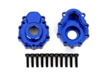 Traxxas Portal housings, outer, 6061-T6 aluminum (blue-anodized) (2)/ 2.5x10 CS (12)