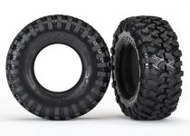 Traxxas Tires, Canyon Trail 1.9 (S1 compound)/ foam inserts (2)