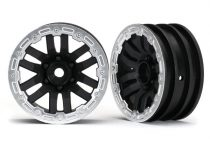 Traxxas Wheels, TRX-4® 1.9 (satin beadlock) (2)