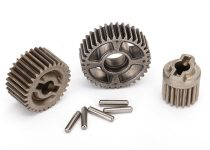 Traxxas Gear set, transmission, metal (includes 18T, 30T input gears, 36T output gear, 2x9.8 pins (5))