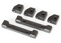 Traxxas Mounts, suspension arms (front & rear)/ hinge pin retainers (4)