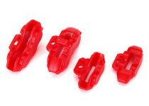 Traxxas Brake calipers (red), front (2)/ rear (2)