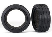 """Traxxas Tires, Response 1.9"""" Touring (front) (2)/ foam inserts (2)"""