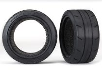 """Traxxas Tires, Response 1.9"""" Touring (extra wide, rear)/ foam inserts (2) (fits #8372 wide wheel)"""