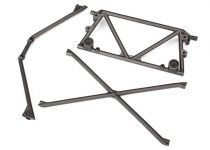 Traxxas Tube chassis, center support/ cage top/ rear cage support