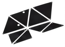 Traxxas  Tube chassis, inner panels (front (2)/ middle (4)/ rear (2))