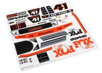 Traxxas Decals, Unlimited Desert Racer®, Fox® Edition