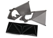 Traxxas  Mounts, suspension arm, upper (front) (left & right)