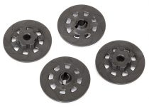 Traxxas Wheel hubs, hex (disc brake rotors) (4)
