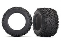 "Traxxas Tires, Talon EXT 3.8"" (2)/ foam inserts (2)"
