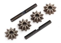 Traxxas Gear set, differential (spider gears (4), spider gear shaft (2)