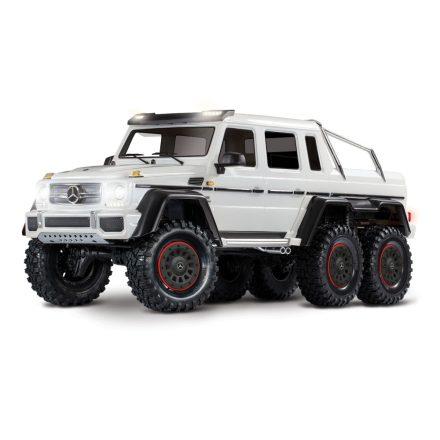 Traxxas TRX-6 Mercedes-Benz G63 AMG 6x6 White