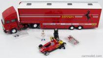 BRUMM OLDCARS IVECO FIAT 1982 + FIGURE G.VILLENEUVE