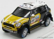 TRUESCALE MINI COOPER COUNTRYMAN S ALL4 RACING N 307 3rd RALLY DAKAR 2013