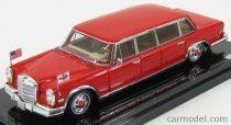 TRUESCALE MERCEDES BENZ 600 PULLMAN LIMOUSINE 1972 PERSONAL CAR HILTON FAMILY