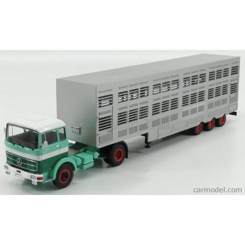 IXO MERCEDES BENZ LPS 1632 TRUCK LIVESTOCK TRANSPORTER 1970 - TRASPORTO ANIMALI
