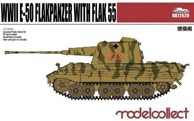 Modelcollect Germany E-50 Flakpanzer with Flak55 makett