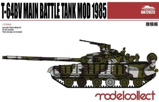 Modelcollect T-64BV Main Battle Tank Mod 1985 makett