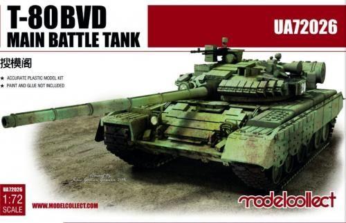 Modelcollect T-80BVD Main Battle Tank makett