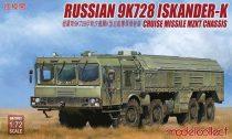 Modelcollect Russian 9K728 Iskander-K cruise missile luncher MZKT makett