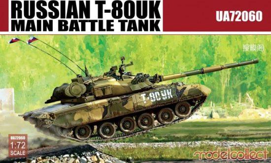Modelcollect T-80UK Main Battle Tank makett