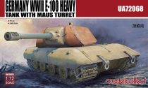 Modelcollect Germany E-100 Heavy Tank with Mouse turret makett