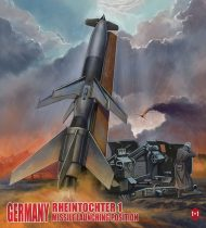 Modelcollect Germany Rheintochter 1 Missile launching position makett
