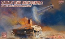 Modelcollect Germany Rheintochter 1 movable Missile launcher with E75 body makett